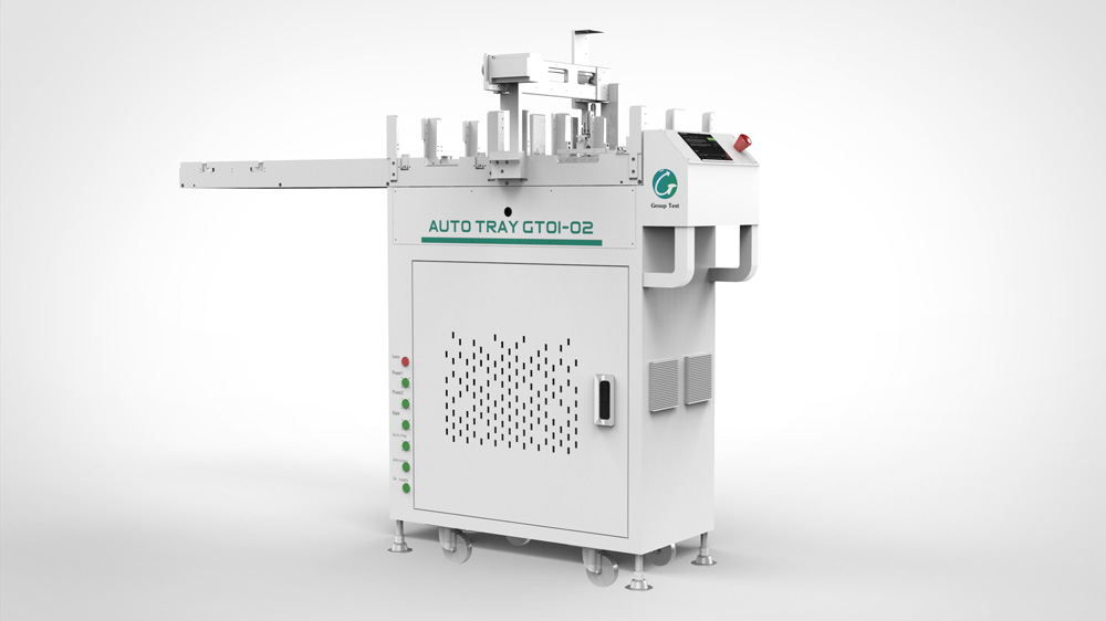 AUTO TRAY GT01-02(Automatic feeding and discharging system)